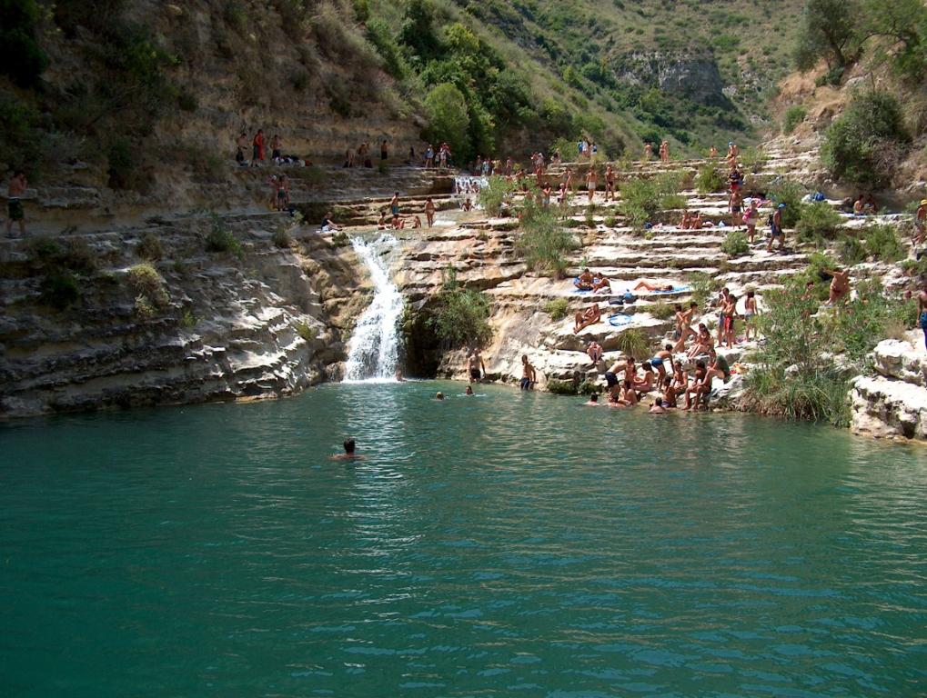 Cava Grande del Cassibile (Avola - SR) laghi inferiori, lago grande 036