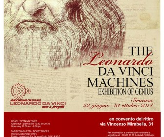The Leonardo Da Vinci Machines