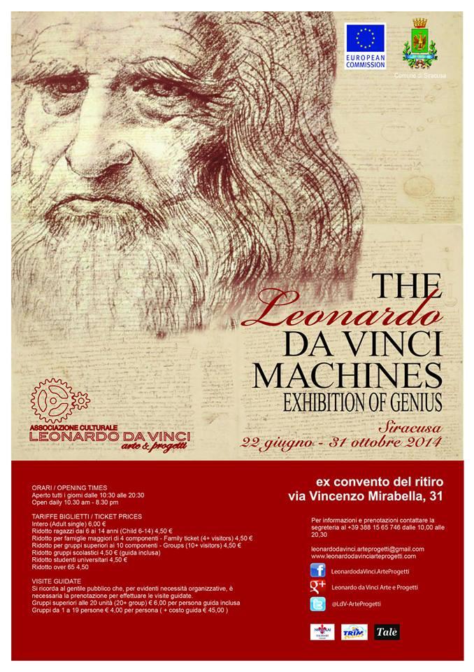 The Leonardo Da Vinci Machines